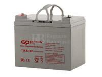 Batería de GEL 12 Voltios 36,6 Amperios TIGER TG33-12