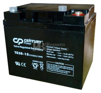 Batería de GEL 12 Voltios 42,2 Amperios TIGER TG42,2-12