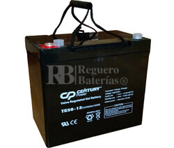 Bateria Ciclica de GEL 12 Voltios 50 Amperios TIGER TG50-12  (229x138x212)