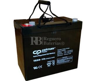 Batería de GEL 12 Voltios 50 Amperios TG50-12