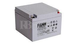 Bateria AGM Ciclica para Silla de Ruedas Eléctrica en 12 Voltios 27 Amperios FIAMM FGC22703