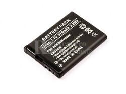 Bateria  2600 classic, para telefonos Nokia, Li-ion, 3,7V, 870mAh, 3,2Wh