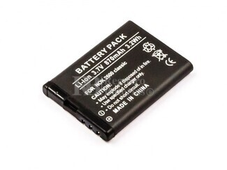 Batería BL-5BT para teléfonos Nokia 7510 SUPERNOVA, 2600 CLASSIC