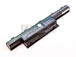 Bateria compatible Aspire 5336, 5252, para ordenadores Acer, Li-ion, 14,8V, 2200mAh, 32,6Wh, black