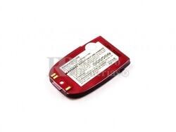 Bateria C1200, para telefonos LG  Li-ion, 3,7V, 750mAh, 2,8Wh, bordeaux-red