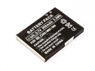 Bateria CX65, M65, S65, para telefonos SIEMENS, Li-ion, 3,7V, 900mAh, 3,3Wh
