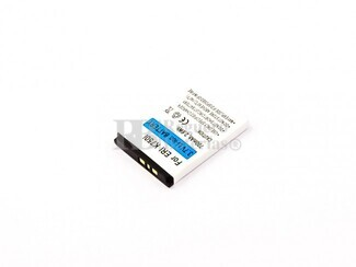 Bateria compatible D750i, K750i, para Sony Ericsson Li-ion, 3,7V, 700mAh, 2,6Wh