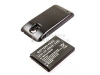 Batería B500BU de larga duración para teléfonos Galaxy S4 Mini,