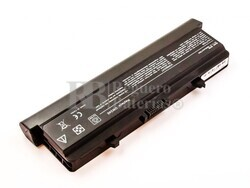 Batería compatible DELL Inspiron 1525, 1545, Li-ion, 11,1V, 6600mAh, 73,3Wh, Negro
