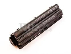 Batería compatible DELL XPS 14, 15, 17, Li-ion, 11,1V, 6600mAh, 73,3Wh, Negro