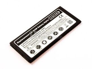 Batería para Galaxy Alpha, para telefonos SAMSUNG, Li-ion, 3,8V, 1700mAh, 6,5Wh