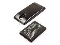 Batería B500BE para teléfonos Samsung Galaxy S4 Mini con tapa color Negro