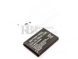 Batería para Galaxy S4 Mini, para telefonos SAMSUNG, Li-ion, 3,8V, 3800mAh, 14,4Wh, with NFC, Tapa color blanca