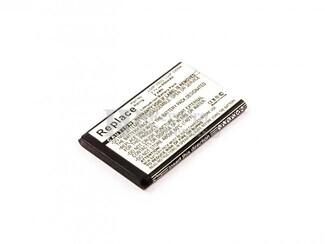 Bateria  GB220, GB230, GD350, para telefonos LG Li-ion, 3,7V, 650mAh, 2,4Wh