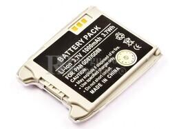 Bateria GD87, GD88, para telefonos PANASONIC, Li-ion, 3,7V, 1000mAh, 3,7Wh, color plata