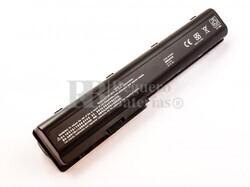 Batería compatible HP Pav dv7 series, Li-ion, 14,4V, 6600mAh, 95Wh, Negro