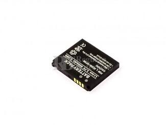 Bateria   KC550, KF700, para telefonos LG Li-ion, 3,7V, 900mAh, 3,3Wh