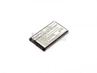Bateria  KF390, KF757 , para telefonos LG Li-ion, 3,7V, 650mAh, 2,4Wh