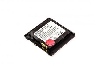 Bateria KS20, para telefonos LG Li-ion, 3,7V, 1050mAh, 3,9Wh, black