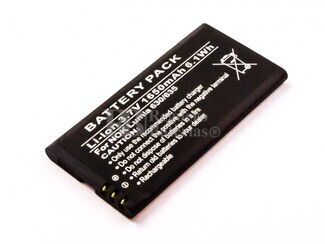 Bateria , Lumia 630, 635, para telefonos Nokia,Li-ion, 3,7V, 1650mAh, 6,1Wh