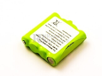 Bateria compatible Midland M48 Plus, NiMH, 4,8V, 700mAh, 3,4Wh