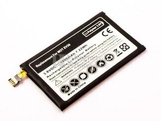 Bateria compatible Motorola Razr HD XT925, Li-Polymer, 3,8V, 1900mAh, 7,2Wh, built-in