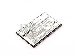 Bateria OT V860, Li-ion, para telefonos Alcatel 3,7V, 1100mAh, 4,1Wh
