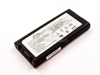 Batería para Panasonic Toughbook 51 52 CF29 CF29A CF29DC1AXS CF51 CF52 CF52CCABXBM CF52EW1AAS
