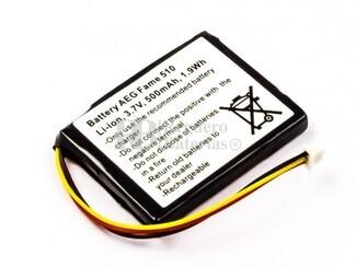 Batería  para inalámbrico AEG Fame 510, Li-ion, 3,7V, 500mAh, 1,9Wh