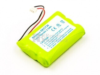 Batería para teléfonos inalámbricos Agfeo, Elmeg, Tiptel