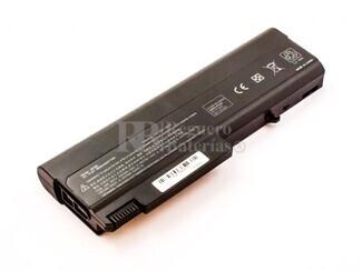 Batería compatible para HP Compaq 6730B, Li-ion, 10,8V, 6600mAh, 71,3Wh, Negro