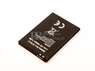 Batería compatible para LG G Pro 2, Li-ion, 3,8V, 3100mAh, 11,8Wh