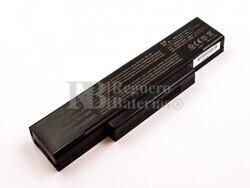 Batería compatible para MSI M660, VR630X, Li-ion, 11,1V, 5200mAh, 57,7Wh, Negro