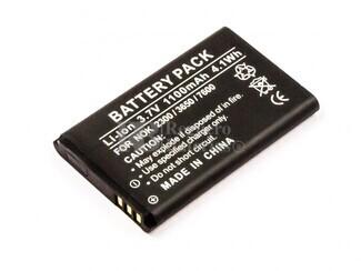 Batería BR-5C para teléfonos Nokia 1200, 1208, 1209, 1600,