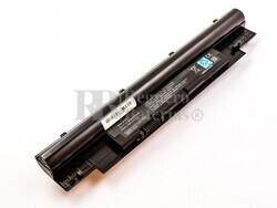 Batería compatible para ordenador Dell Inspiron 13Z, Vostro V131, Li-ion, 11,1V, 4400mAh, 48,8Wh, Negro