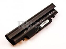 Batería compatible para ordenador Samsung N148, NP-N150, Li-ion, 11,1V, 4400mAh, 48,8Wh, negro
