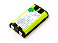 Batería para teléfonos inalámbricos GE, Panasonic, Radio shack