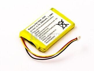 Batería para PHILIPS S9A, S9H, Li-ion, 3,7V, 500mAh, 1,9Wh