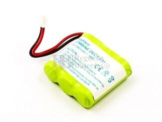 Batería para teléfono inalámbrico Binatone E3300, UNIT 1
