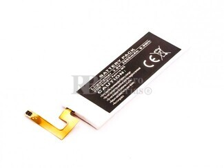 Bateria Compatible para Sony Ericsson XPERIA M5, Li-Polymer, 3,8V, 2600mAh, 9,9Wh,