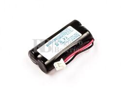 Batería  para teléfono inalambrico Swisscom Da Vinci, NiMH, 2,4V, 800mAh, 1,9Wh