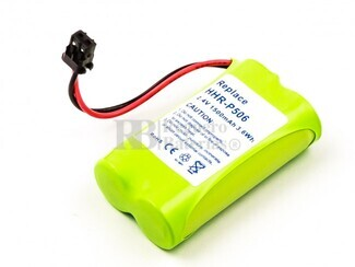 Batería para teléfonos inalámbricos PANASONIC, RADIO SHACK, UNIDEN