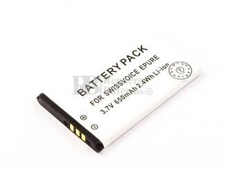 Batería para teléfonos inalámbricos Swissvoice