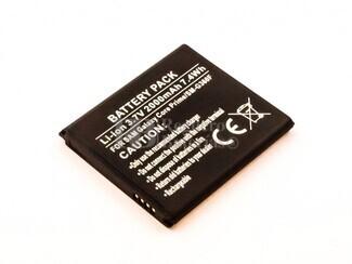 Batería Compatible para telefonos Samsung Galaxy Core Prime, SM-G360F, Li-ion, 3,7V, 1800mAh, 6,7Wh