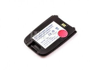 Bateria, SGH D600, para telefonos SAMSUMG, Li-Polymer, 3,7V, 900mAh, 3,3Wh, black
