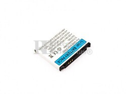 Batería SGH D900, para telefonos SAMSUMG Li-ion, 3,7V, 650mAh, 2,4Wh