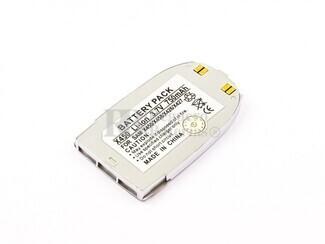 Bateria  SGH E100, X450, Li-ion, para telefonos SAMSUMG 3,7V, 750mAh, 2,8Wh, silver