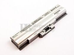Batería compatible SONY VGP-BPS13S, Li-ion, 11,1V, 5200mAh, 57,7Wh, Plata