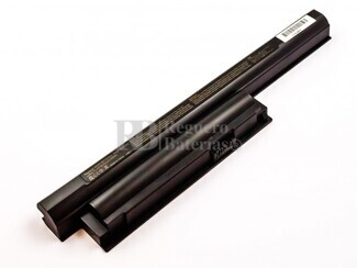 Batería compatible SONY VGP-BPS26, Li-ion, 11,1V, 5200mAh, 57,7Wh, Negro