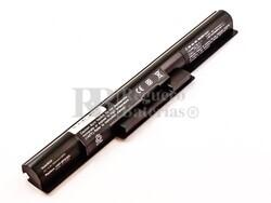 Batería compatible SONY VGP-BPS35A, Li-ion, 14,8V, 2600mAh, 38,5Wh, Negro